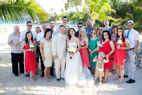 destination wedding at the Grand Sirenis Mayan Beach Resort