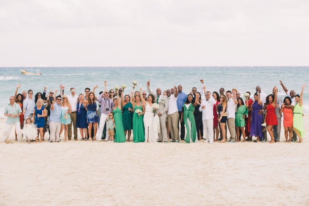 destination wedding in cancun mexico, playacar palace