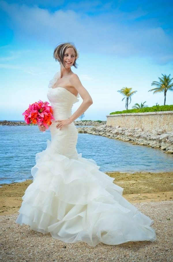 beach wedding in jamaica