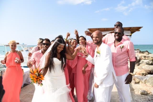 Destination Wedding at the Royalton White Sands, Jamaica
